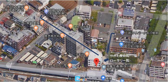 駐車場 地図