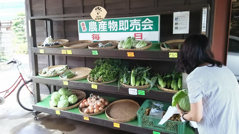 農産物販売会