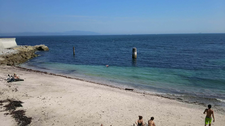 観音崎の海