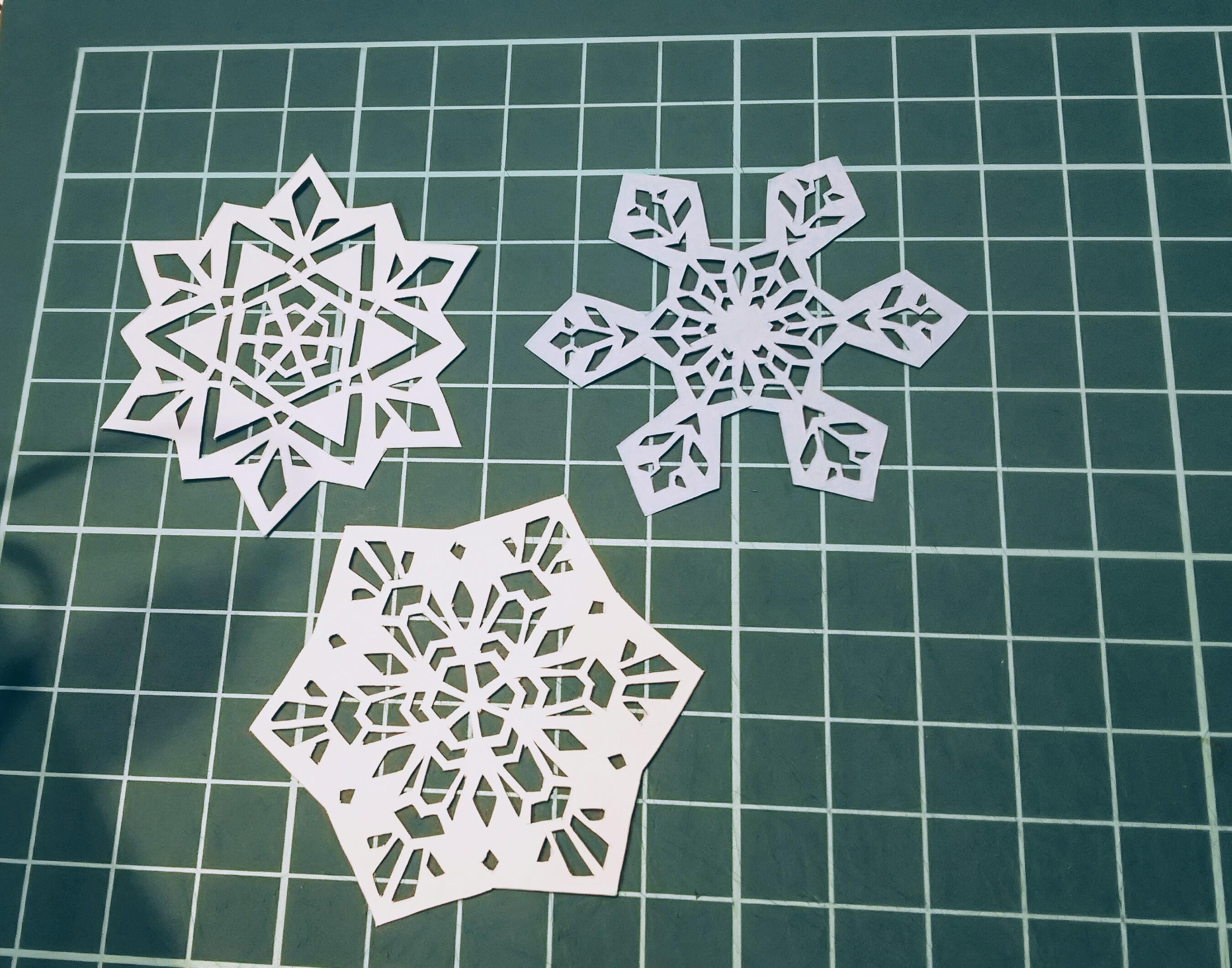 雪の結晶①