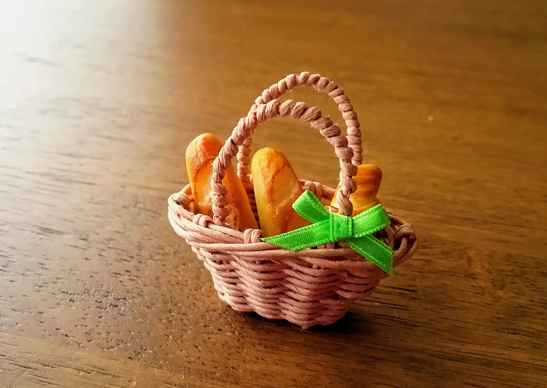 手作りパン&カゴ