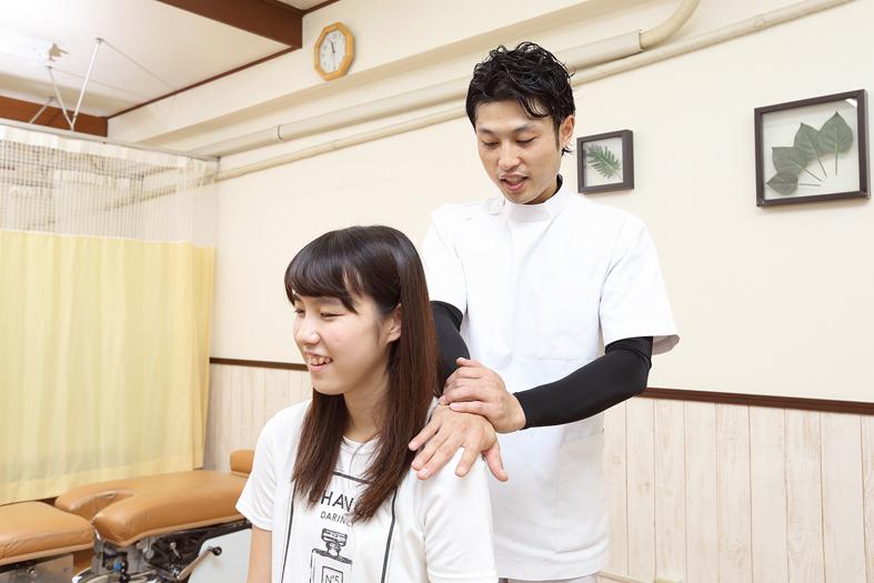 肩こり・腰痛・首の痛み